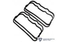 Комплект прокладок крышки клапанов головки блока цилиндров (общий резина)