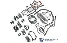 Комплект прокладок двигателя ЯМЗ-6582.10 (общая ГБЦ) полный