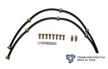 Ремкомплект дренажных трубок на двигатель ЯМЗ-6582 (Италия)