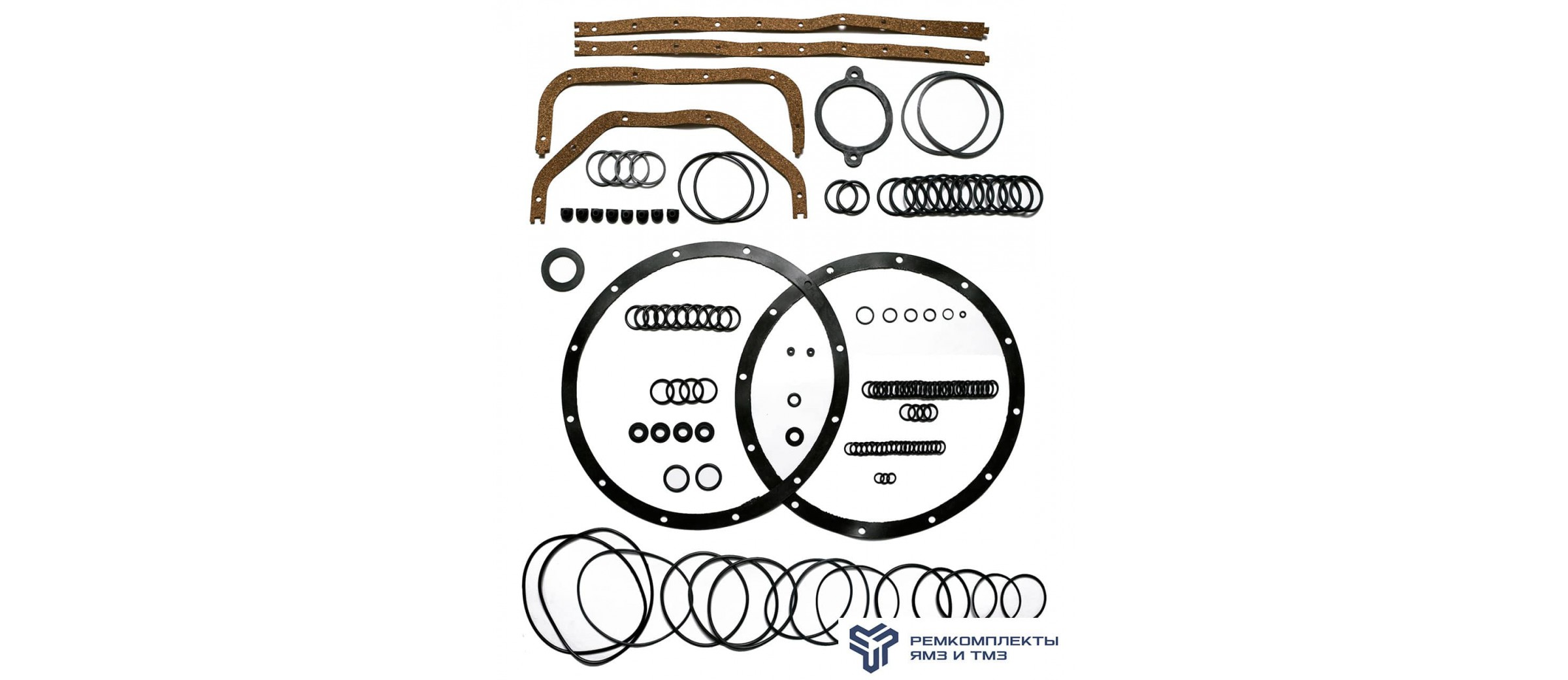 Комплект РТИ на двигатель ТМЗ 8421-8486 (без уплотнительной гильзы и ГБЦ)
