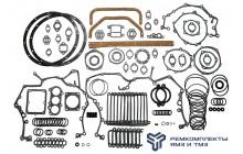 Комплект прокладок и колец на двигатель ТМЗ 8421-8486 (РТИ+паронит.)