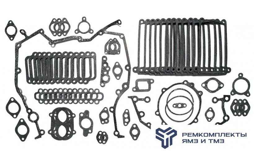Комплект прокладок двигателя ЯМЗ-8401 (паронит)