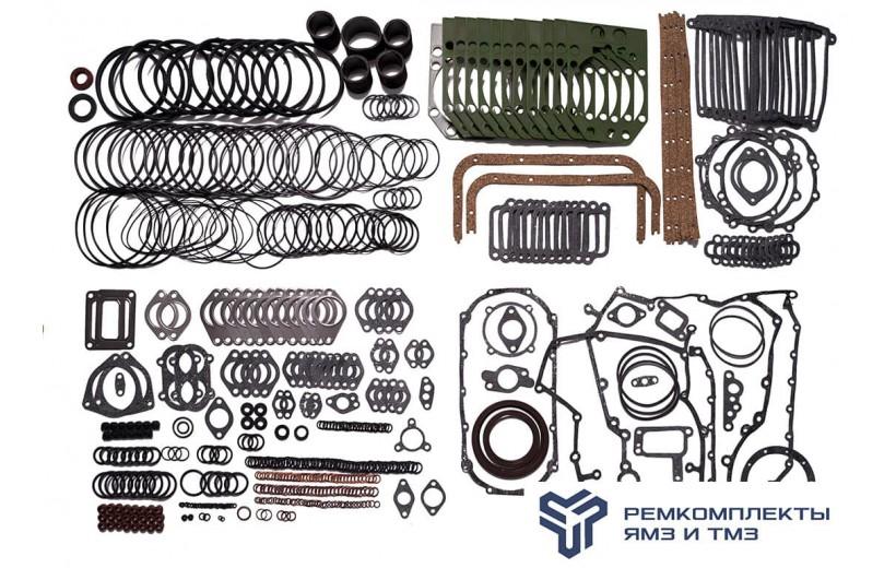 Ремкомплект для ремонта двигателя ЯМЗ-850.10,8510.10(металлсиликон)