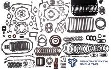 Ремкомплект для ремонта двигателя ЯМЗ-850,8501 (без ГБЦ и прокладки поддона)