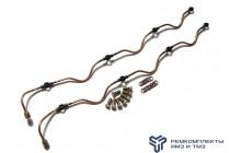 Ремкомплект дренажных трубок на ЯМЗ-238 (общий ГБЦ) без нипеля