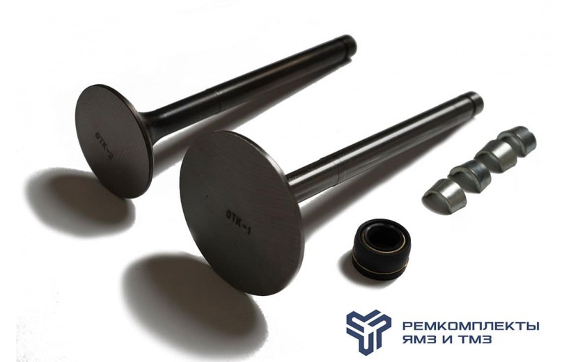 Ремкомплект замены клапанов (клапан,сухари,манжета) Самара