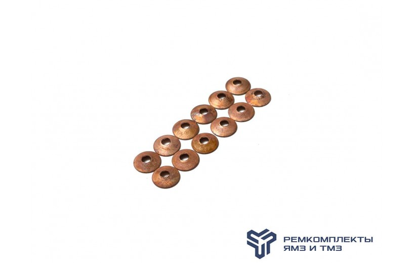 Комплект медных прокладок на 6 трубок высокого давления