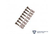 Ремкомплект для установки 51 форсунки (болты+шайбы)раздельнаяГБЦ