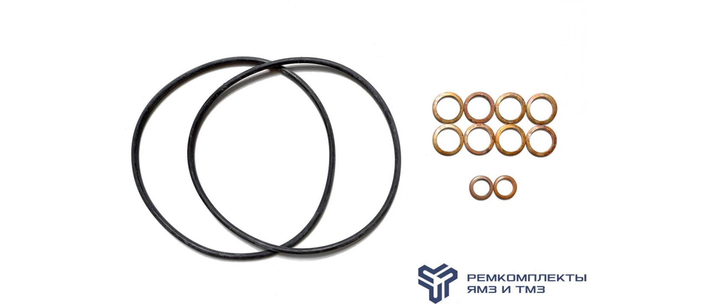 Ремкомплект фильтра грубой очистки топлива двигателя ЯМЗ-236НЕ,7511,8421,8401 (РТИ, медь)