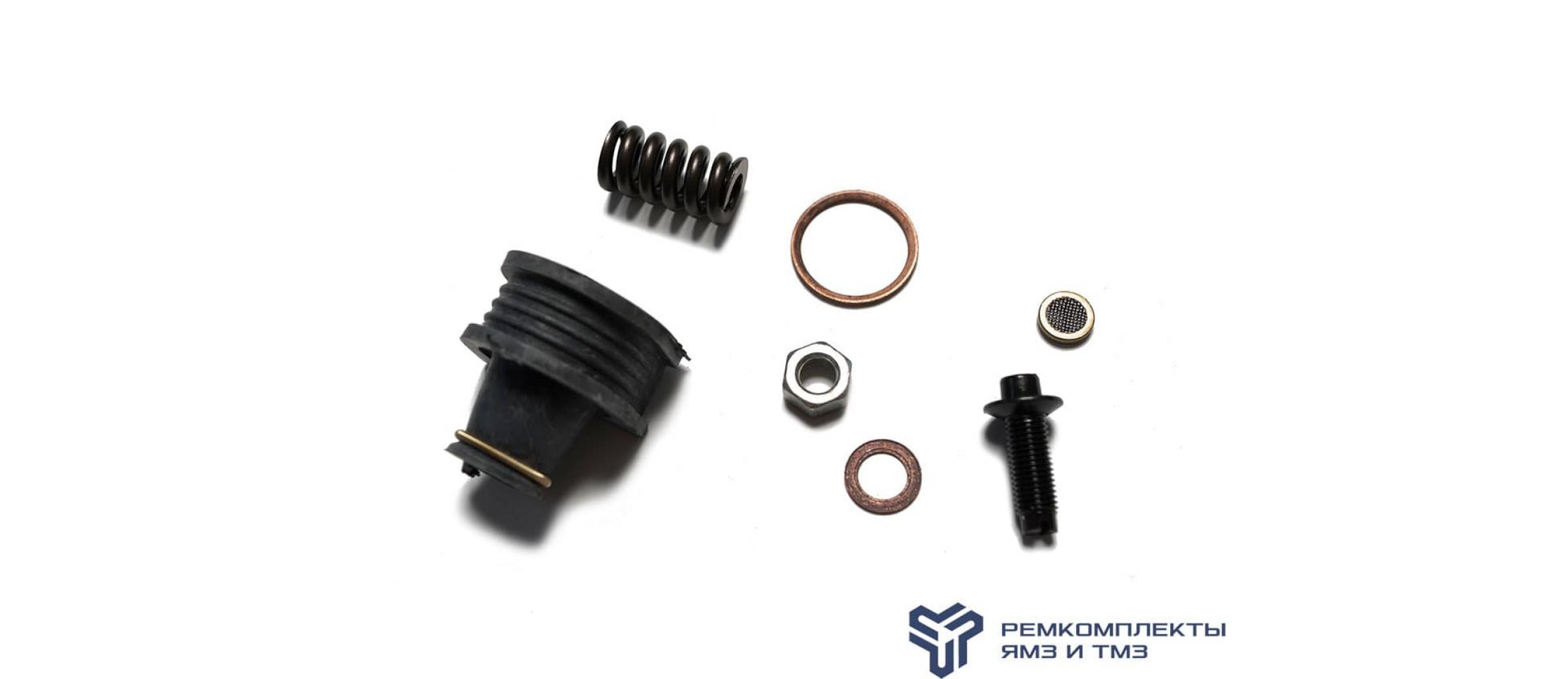 Ремкомплект форсунки  (фильтр,винт,уплотнитель,штуцер) С 2000Г.