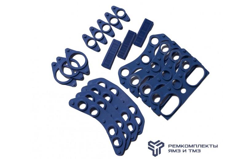 Комплект уплотнительных прокладок ГБЦ (общая) на 1 головку (фтор-силикон)