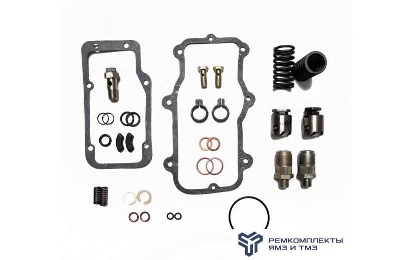 Ремкомплект ТНВД (толкатель,пружина,клапан перепускной, штуцер, венец) на 2 секции.