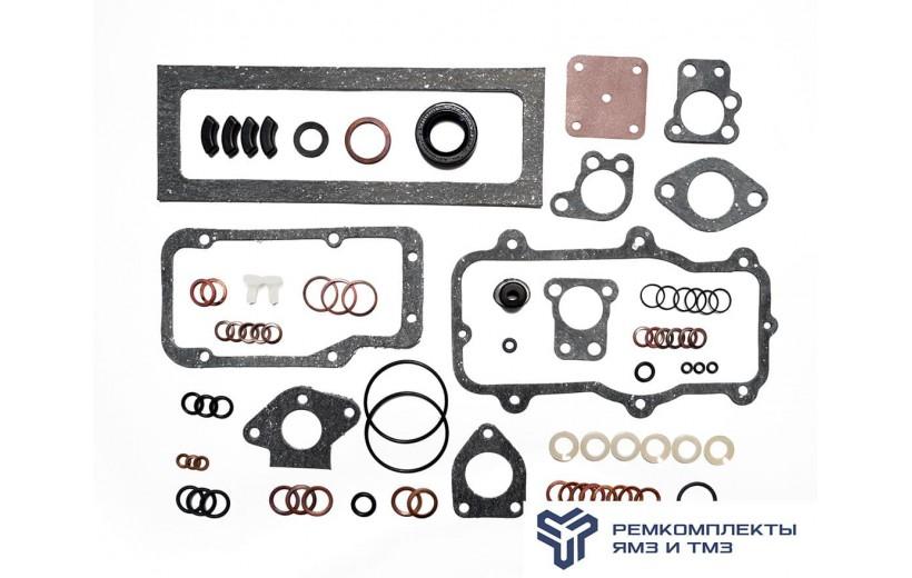 Ремкомплект ТНВД 604,607 с корректором (РТИ,паронит,медь,пластик)