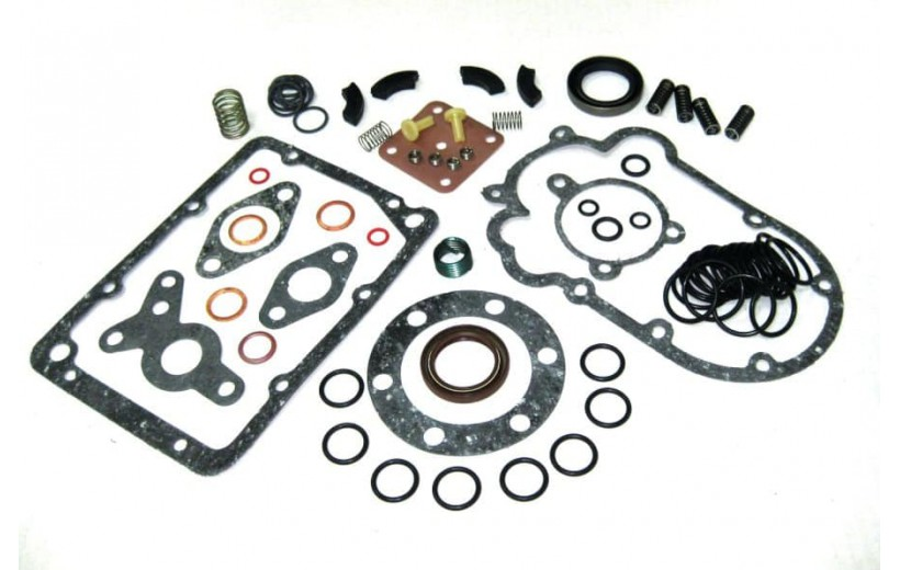 Ремкомплект ТНВД 337-20 (РТИ,паронит,медь,прокладка,резьбовая вставка,пружина)