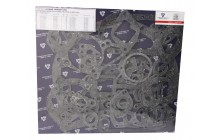 Комплект прокладок (ЯМЗ-236 НЕ,БЕ) общей ГБЦ