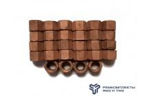 Комплект гаек крепления головки блока цилиндров ЯМЗ-240 (311445-П5 28 шт.)