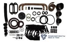 Ремкомплект РТИ на двигатель ЯМЗ-6581,6583 (раздельная ГБЦ)