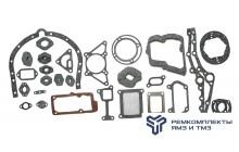 Комплект прокладок двигателя ЯМЗ-6581, 6583 (раздельная ГБЦ) полный