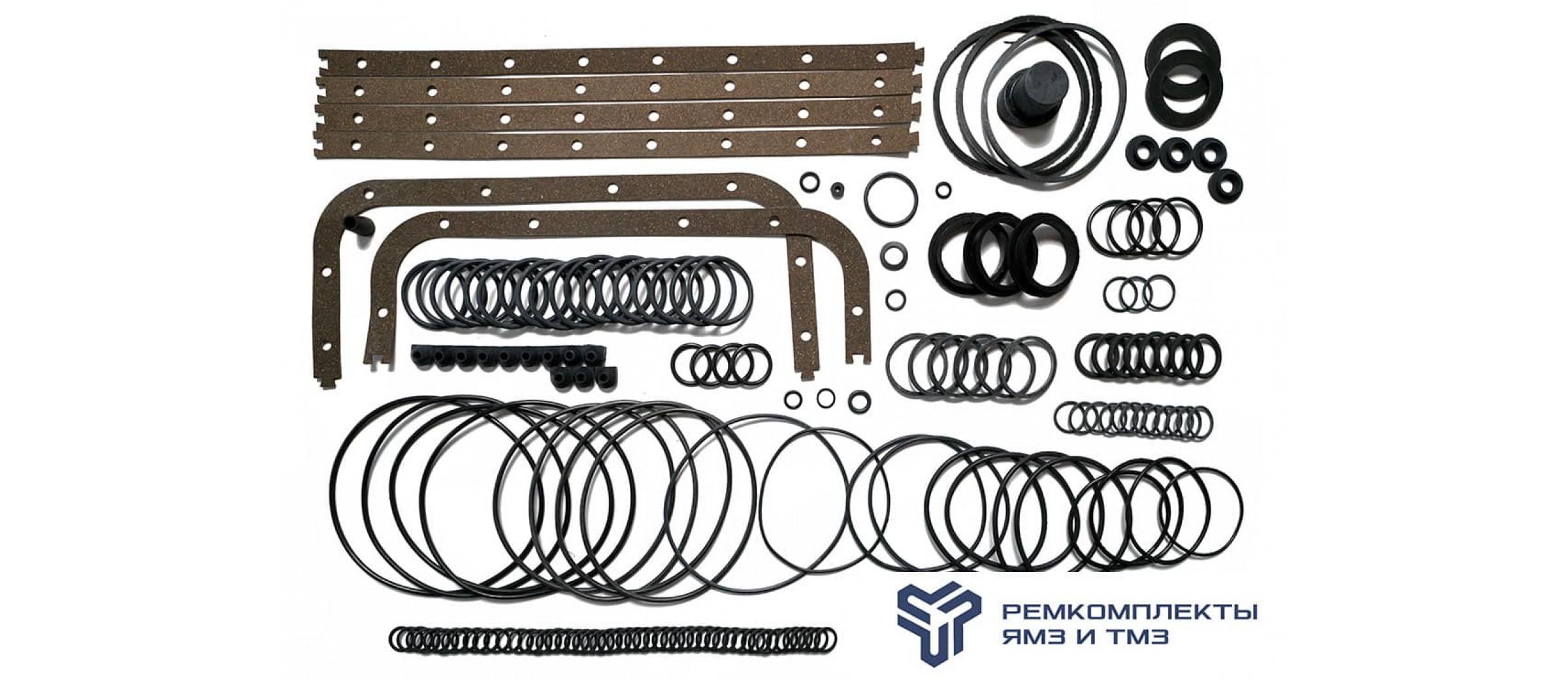 Ремкомплект РТИ на двигатель ЯМЗ-8401 (без Г/П, ГБЦ)