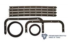 Ремкомплект замены коленвала (манжеты, прокладка поддона) ЯМЗ-8401