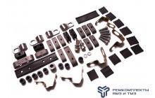 Ремкомплект крепежей трубок двигателя ЯМЗ-238, 7511 с турбокомпрессором
