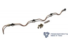 Ремкомплект дренажной трубки на 1 головку двигателя ЯМЗ-238 (без нипеля)