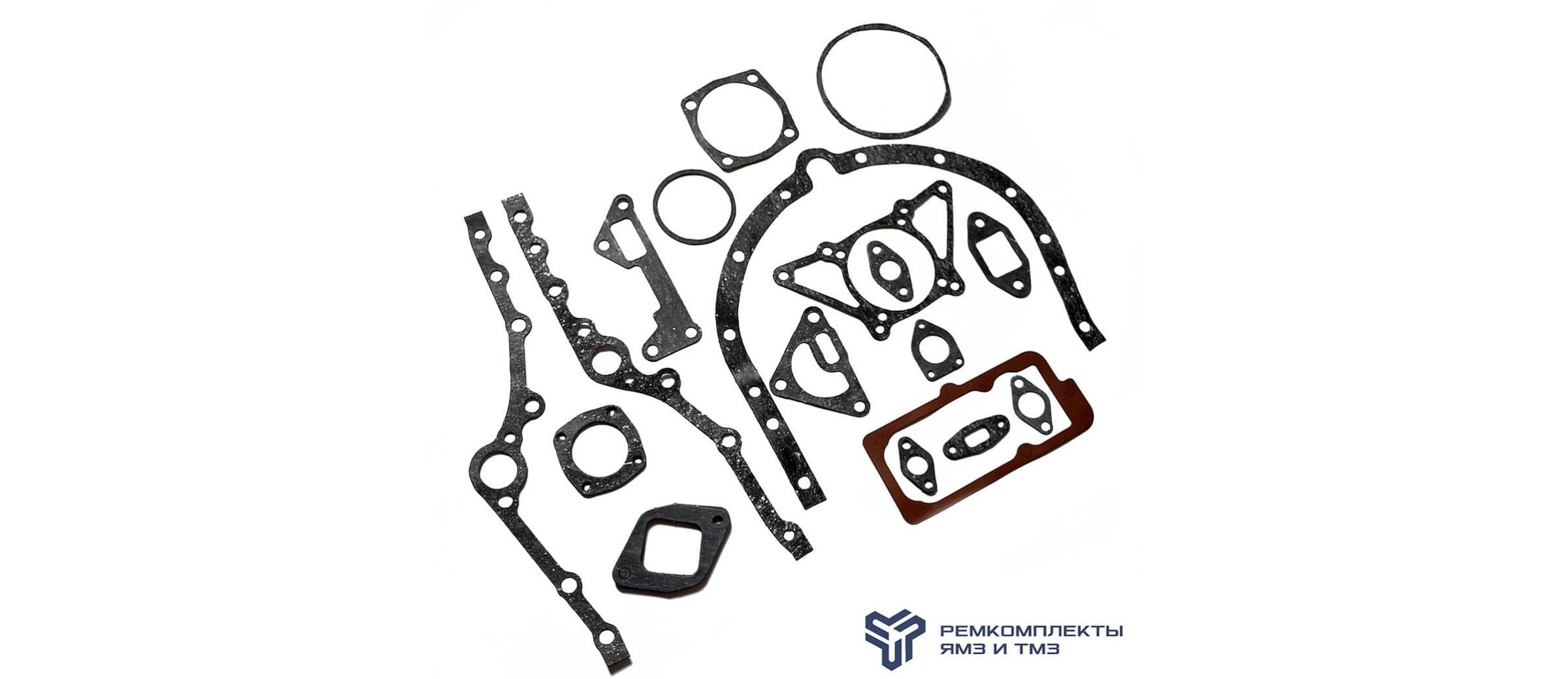 Комплект прокладок двигателя ЯМЗ-236 (ПАРОНИТ)