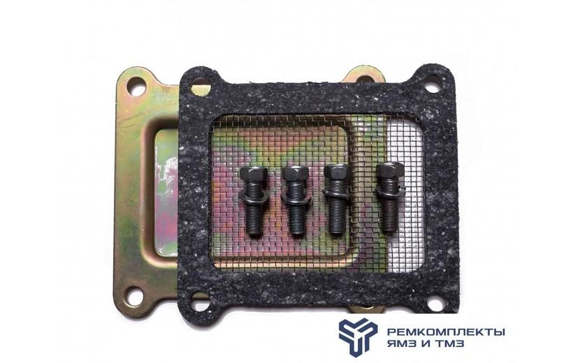 Ремкомплект крышки шестерен  распределения (+заглушка, сетка)
