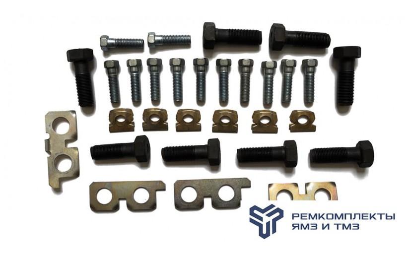Ремкомплект маховика двигателя ЯМЗ (болты, пластины)