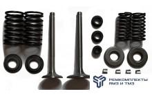 Ремкомплект замены клапанов (пружина,тарелка,клапан)
