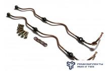 Ремкомплект дренажных трубок на двигатель ЯМЗ-236 (без нипеля)