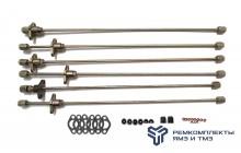 Комплект трубок высокого давления прямые блочные ГБЦ(+РТИ,ПАР)