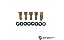 Ремкомплект крепления 1 дренажной трубки ЯМЗ-6582 (Италия)