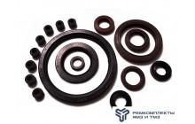 Комплект манжет двигатель ЯМЗ-7511 с ТНВД (резина)