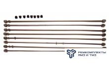 Комплект из 8 трубок высокого давления, прямые, индивидуальная ГБЦ(+РТИ)