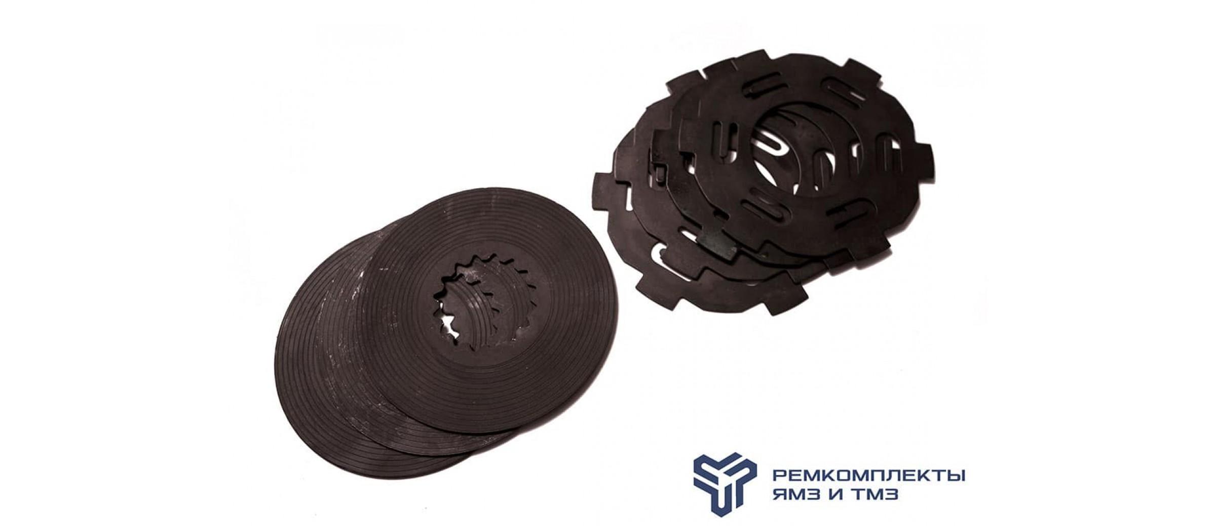 Ремкомплект привода вентилятора ЯМЗ-7511 (диски ведущий, ведомый)