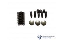 Ремкомплект фиксаторов штоков КПП-236,238 (винты, шарик, пружина)