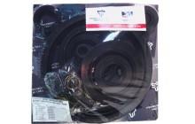 Комплект манжет двигателя ЯМЗ-238 с ТНВД (с 2007г)